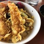 道の駅 鐘のなるまち・ちっぷべつ お食事館 - 料理写真:天丼