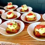 ザ・レストラン by アマン - ピスタチオとグレープフルーツのタルト@グレープフルーツでじゅんわりとしたダマンドにピスタチオクリームが絶妙。こんなに合うなんて新発見!