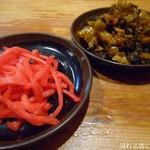 71636005 - 紅しょうが&激辛高菜