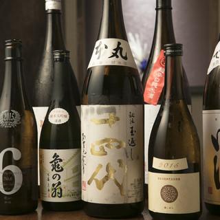 オーナーお薦め日本酒、焼酎!珍しい【アウグスビール】も。