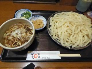 手打麺THE・うどん 大 - 肉汁うどん(864円)_2017-08-16