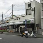 鰻のおかむら - 【2017.7,25】店舗全容。