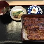 鰻のおかむら - 【2017.7,25】うな重 毱¥3900
