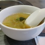 鳥取和牛 因幡の国守 - 付属のスープ