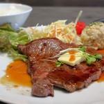 鳥取和牛 因幡の国守 - 肉汁たっぷり特選牛ロースステーキ