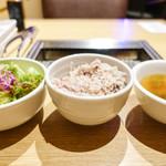 神楽坂焼肉 Kintan - ごはんセット