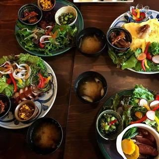 地産地消の食材と体にやさしいお味
