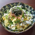 しゃきしゃき白菜とツナ昆布のサラダ