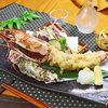 特大えびと季節野菜の天ぷら盛り合わせ