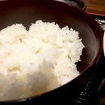 魚酒場ピン - 白米は割とおいしいです