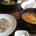 香樹 - 野菜とチキン 夏野菜のマルゲリータ