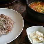 香樹 - 十穀米とチーズ