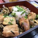 山中温泉紅富士の湯 - 料理写真:信玄鶏の照り焼き重950円