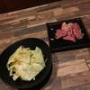 馬力家 - 料理写真:塩ダレキャベツとネギ塩ロース