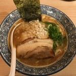 麺屋銀星 池袋 - 濃厚煮干し中華そば