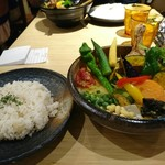 71644992 - チキンと一日分の野菜20品目 ¥1480