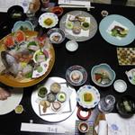 御やど 清水屋 - 料理写真:夕食 夫婦膳