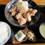 中津からあげ もり山 - 料理写真:【デラックス定食 760円】