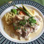 レストラン ル・ヴェール - 若鶏もも肉ビール煮