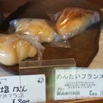 パン デ ノブ - 料理写真:めんたいフランス、これもあれば買っちゃいますね(2017.8.17)