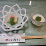 郷味 洲さき - 珍しい白子豆腐