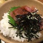 ザ めしや - まぐろ漬飯ミニ(¥368)