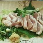 串太郎 - 鶏たたき