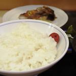 魚竹 - 鮪ほほ肉照焼定食