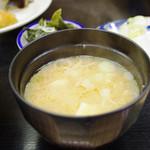 魚竹 - 味噌汁