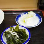 魚竹 - 小鉢、漬物