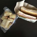 ななかまど - フレンチトースト ハムチーズサンド