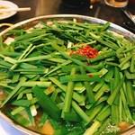 71655986 - 牛もつ鍋(醤油)