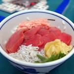 ガラパゴス - マグロネギトロ丼¥500