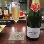 やきとり 龍星 - コドーニュ クラシコ・セコ スペイン グラス