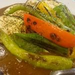 高松一敷居の低いソムリエのお店 ガブマル食堂 - 夏野菜カレー