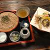 飛弾そば 小舟 - 料理写真:鮎天ざるそば 税込2,120円