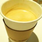 ボン ヴィヴァン ベイキングファクトリー - ホットコーヒー