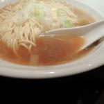 自家製麺 伊藤 - 【再訪】比内鶏そばのスープ
