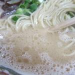 三九ラーメン - スープアップ