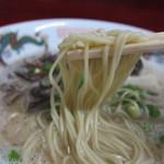 三九ラーメン - 麺アップ