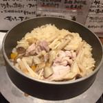 71659522 - 鶏ごぼう飯