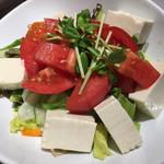 清龍 - 豆腐サラダ