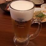 旨唐揚げと居酒メシ ミライザカ - プレミアムモルツ