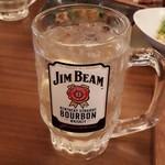 旨唐揚げと居酒メシ ミライザカ - ジムビームハイボール