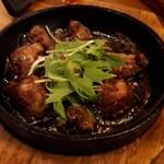 旨唐揚げと居酒メシ ミライザカ - 牛サイコロステーキ