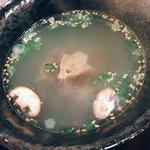 焼肉 まる - テールスープ