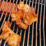 焼肉 まる - シマチョウ焼き焼き