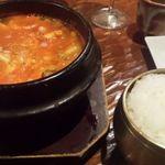 韓花 - 海鮮スンドゥプセット