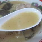 来々軒 - スープのアップ