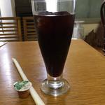 喜楽亭 - ドリンク写真:アイスコーヒー。